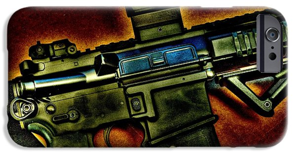 Weapon iPhone Cases - Intense iPhone Case by Twain and Denise Wilkins