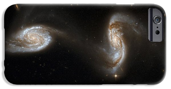 Merging iPhone Cases - Interacting Galaxies Ngc 5257 And 5258 iPhone Case by Stsciaurahubble Collaborationa. Evans (university Of Virginia, Charlottesville;nrao;stony Brook University)nasa
