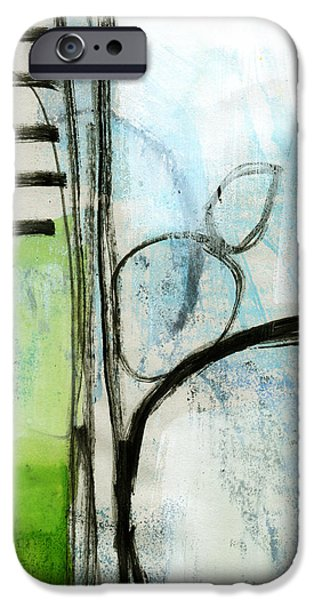 Corporate Art iPhone Cases - Intersections #35 iPhone Case by Linda Woods