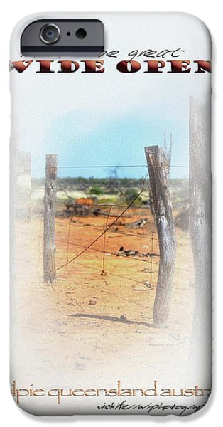 Whitsunday iPhone Cases - Into The Great Wide Open Australia 2 iPhone Case by Vicki Ferrari