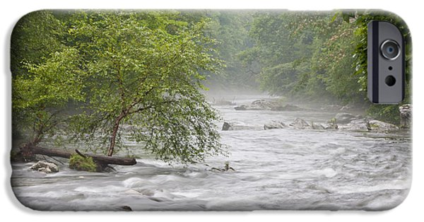Fog Mist iPhone Cases - Into the Mist iPhone Case by Finesse Fine Art
