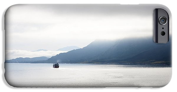Sailing iPhone Cases - Into the Mist iPhone Case by Karen Foley