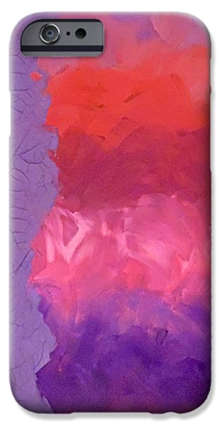 Chip iPhone Cases - Introspection iPhone Case by Jilian Cramb