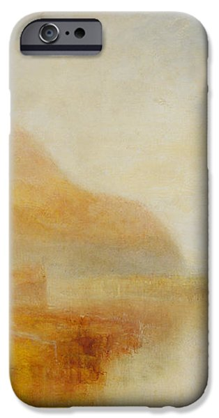 Nature Study Paintings iPhone Cases - Inverary Pier iPhone Case by William Turner