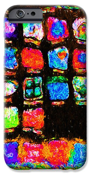 Iphone In Abstract iPhone Case by Wingsdomain Art and Photography