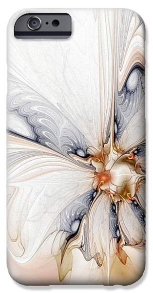 Iris iPhone Case by Amanda Moore