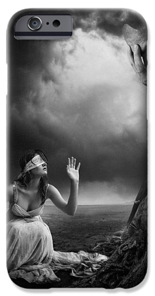 Is There Anybody Out There? iPhone Case by Erik Brede
