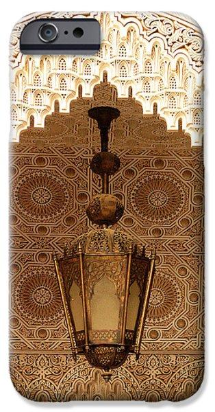 Fez iPhone Cases - Islamic Plasterwork iPhone Case by Ralph A  Ledergerber-Photography