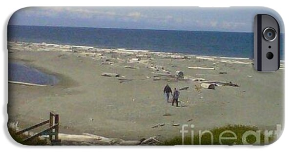 Mounds iPhone Cases - Island Beach iPhone Case by Cindy  Riley