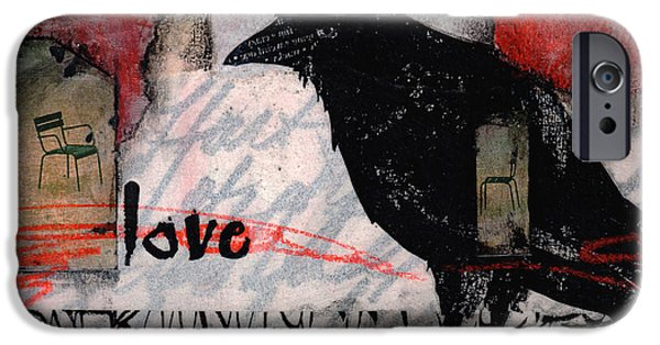 Transfer iPhone Cases - It Hurts Too Bad iPhone Case by Laura  Lein-Svencner