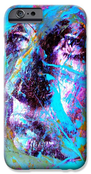 Abstract Digital Art iPhone Cases - It Is Beautiful iPhone Case by Richard Ray