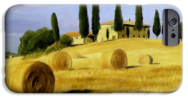 Scott Melby iPhone Cases - Italy in Fall iPhone Case by Scott Melby