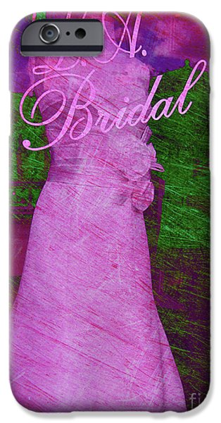 Ball Gown iPhone Cases - Its a choice you make iPhone Case by Susanne Van Hulst