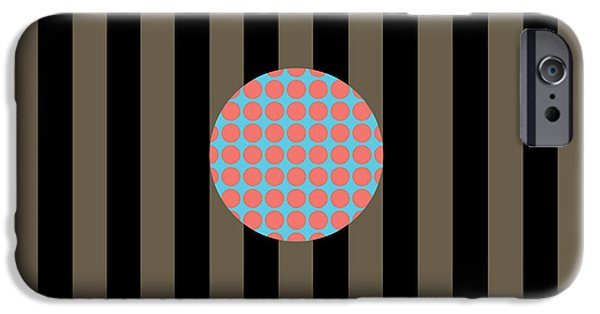 Stripes iPhone Cases - Its A Happening--Two iPhone Case by Patti Britton