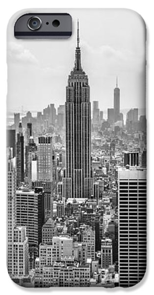 Empire State Building iPhone Cases - Its A Jungle Out There iPhone Case by Az Jackson