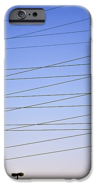 Electrical iPhone Cases - Its Electric 2 iPhone Case by Patrick M Lynch