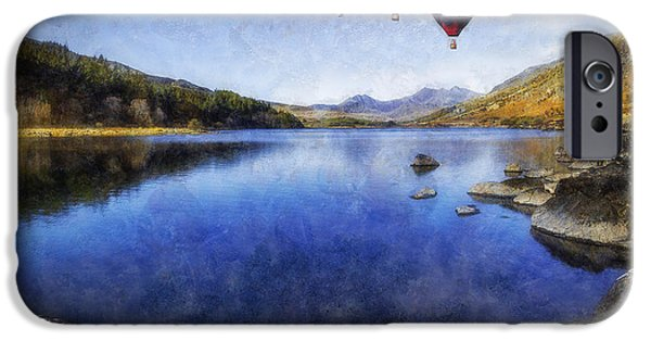 Hot Air Balloon iPhone Cases - Its Freedom iPhone Case by Ian Mitchell