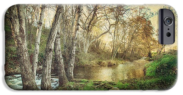 Creek iPhone Cases - Its Passed Me By iPhone Case by Laurie Search