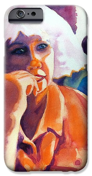 I've Got a Secret iPhone Case by Kathy Braud