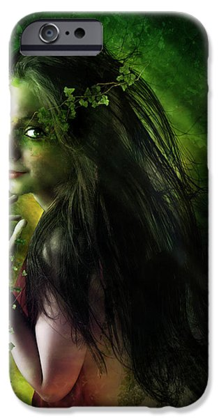 Poison iPhone Cases - Ivy iPhone Case by Karen H