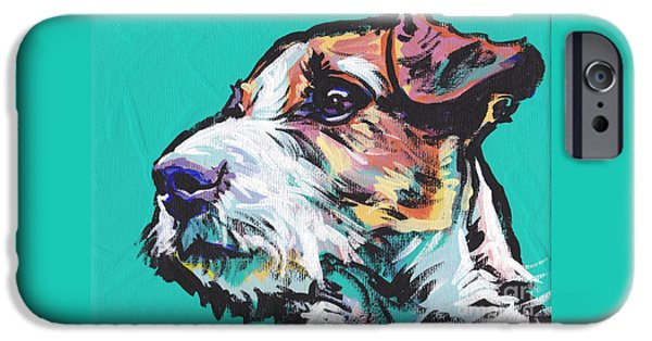Recently Sold -  - Puppies iPhone Cases - Jack Be Nimble  Jack Russell Terrier iPhone Case by Lea