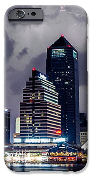 Jacksonville on a Stormy Evening iPhone Case by Jeff Turpin