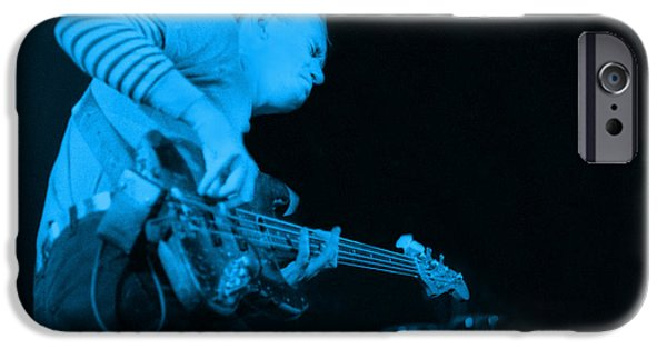 Pastorius iPhone Cases - JACO Up the deck iPhone Case by Philippe Taka