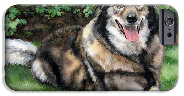 Sandra Chase iPhone Cases - Jake iPhone Case by Sandra Chase