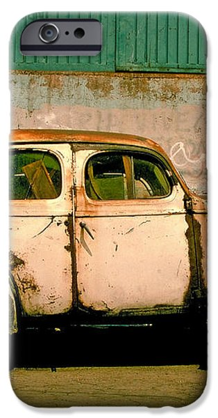Jalopy iPhone Case by Skip Hunt