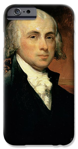 Canvas iPhone Cases - James Madison iPhone Case by American School