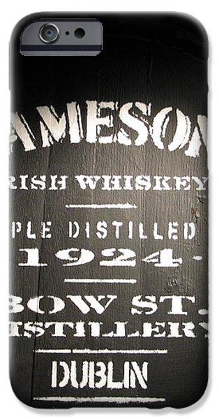 Jameson iPhone Case by Kelly Mezzapelle