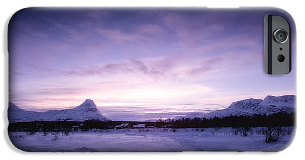 Morning iPhone Cases - January iPhone Case by Tor-Ivar Naess