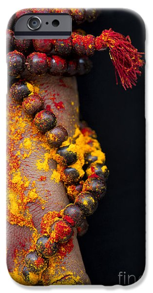 Inner Peace iPhone Cases - Japa iPhone Case by Tim Gainey