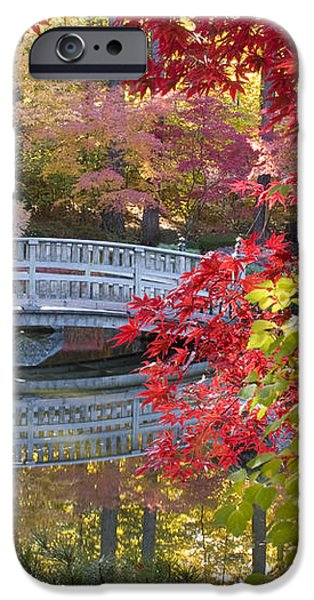 Japanese Gardens iPhone Case by Idaho Scenic Images Linda Lantzy
