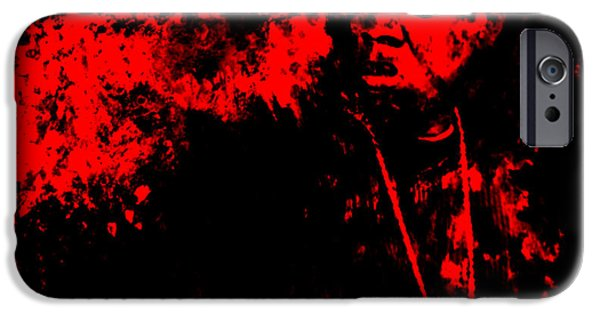 Dr. J iPhone Cases - Jay Z 02a iPhone Case by Brian Reaves
