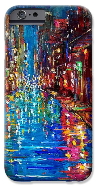 Texture Paintings iPhone Cases - Jazz Drag iPhone Case by Debra Hurd