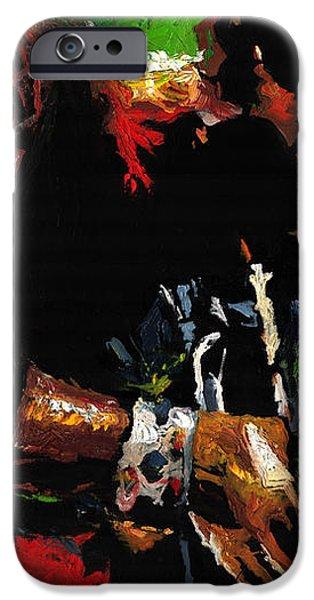 Jazz Miles Davis 1 iPhone Case by Yuriy  Shevchuk