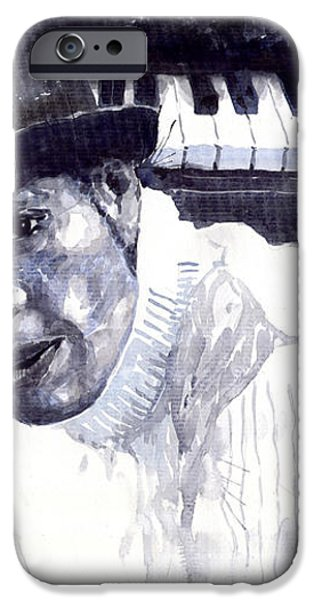 Jazz Roberto Fonseca iPhone Case by Yuriy  Shevchuk