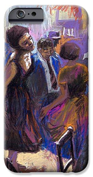 Jazz iPhone Case by Yuriy  Shevchuk