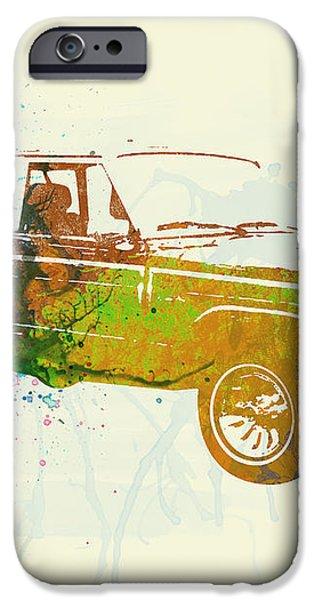 Jeep Wagoneer iPhone Case by Naxart Studio
