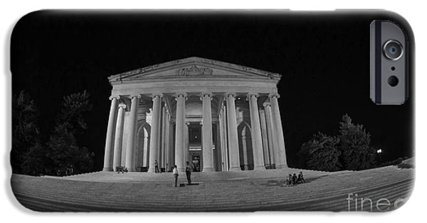 President iPhone Cases - Jefferson Memorial iPhone Case by David Bearden