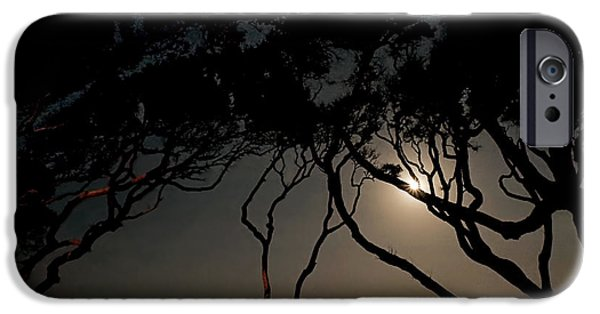 Moonscape iPhone Cases - Jekyll Island Allure iPhone Case by Laura Ragland