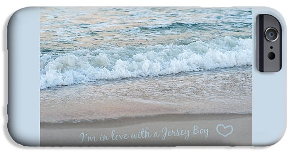 Summer iPhone Cases - Jersey Boy Love Seaside New Jersey iPhone Case by Terry DeLuco