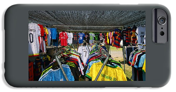 Business Photographs iPhone Cases - Jerseys of the Stars iPhone Case by Allen Beatty