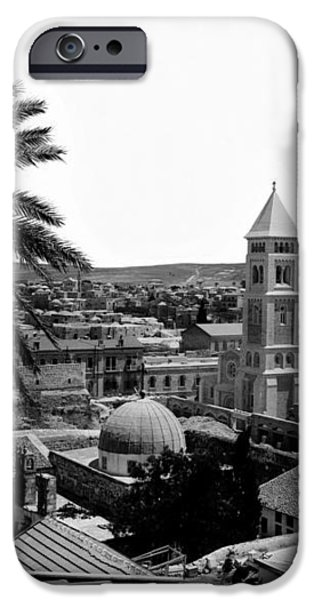Jerusalem View from the Southwest iPhone Case by Munir Alawi