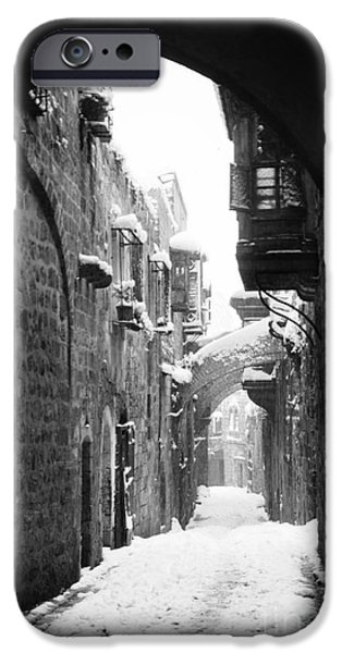 20th iPhone Cases - Jerusalem: Winter iPhone Case by Granger
