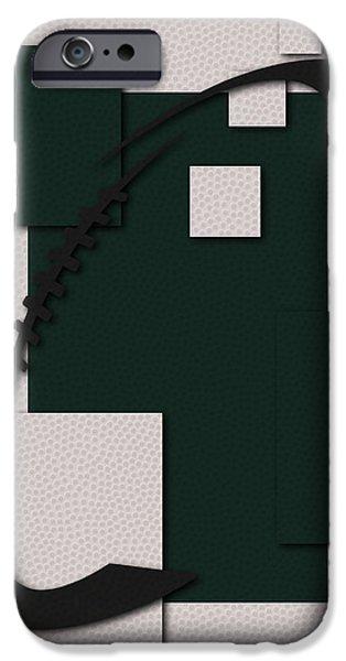 New York Jets iPhone Cases - Jets Football Art iPhone Case by Joe Hamilton
