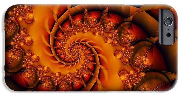 Michelle iPhone Cases - Jewels Of Autumn iPhone Case by Michelle H