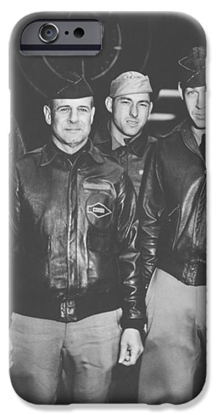 Jimmy Doolittle and His Crew iPhone Case by War Is Hell Store
