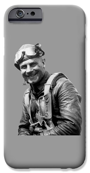 United iPhone Cases - Jimmy Doolittle iPhone Case by War Is Hell Store